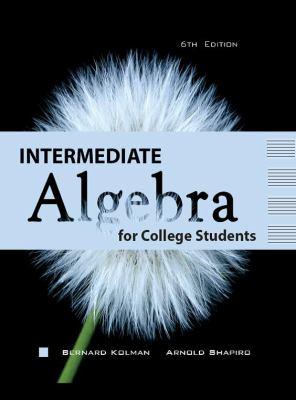 Intermediate Algebra for College Students 6/e 9781602298811