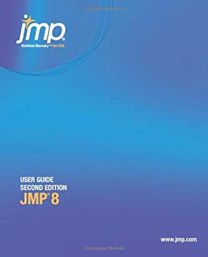 Jmp 8 User Guide, Second Edition 9781607643012