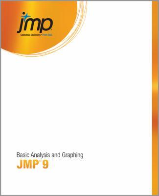 Jmp 9 Basic Analysis and Graphing 9781607645962