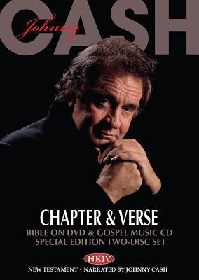 Johnny Cash Chapter & Verse Bible on DVD & Gospel Music CD: NKJV New Testament
