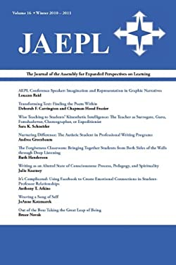 Journal of the Assembly for Expanded Perspectives on Learning (Jaepl Volume 16) 9781602352049