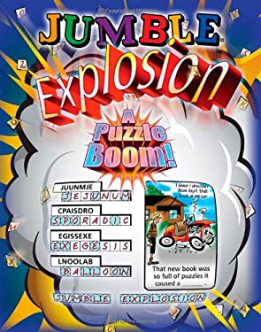 Jumble Explosion: A Puzzle Boom! 9781600780783