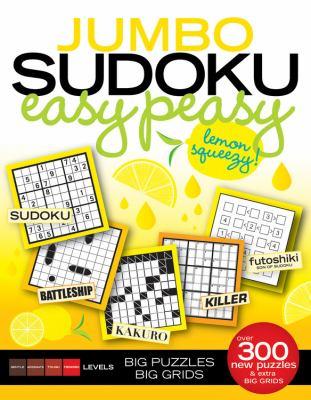 Jumbo Sudoku Easy Peasy 9781603208659