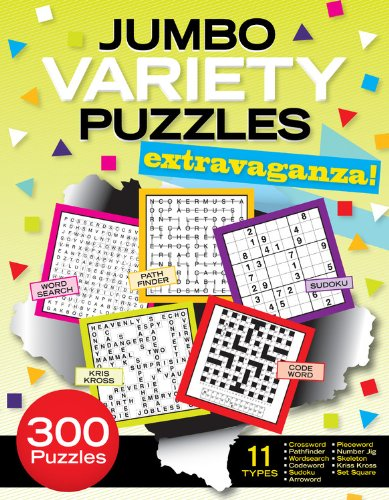 Jumbo Variety Puzzles Extravaganza! 9781603208970