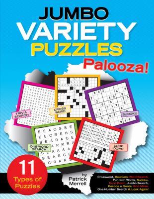 Jumbo Variety Puzzles Palooza 9781603208925