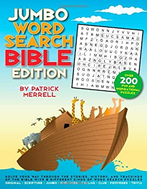 Jumbo Word Search: Bible Edition 9781603209601