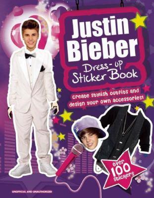 Justin Bieber Dress-up Sticker Book Claire Sipi