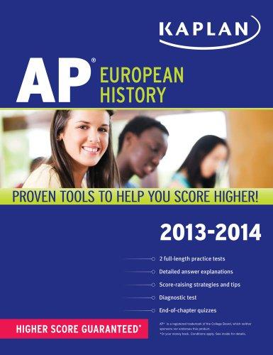 Kaplan AP European History 2013-2014 9781609786922