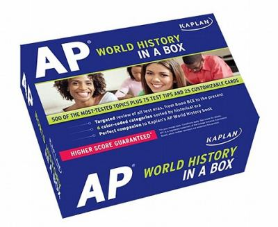 Kaplan AP World History in a Box Flashcards 9781607147831