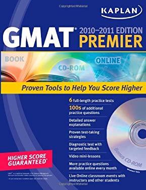 Kaplan GMAT Premier [With CDROM] 9781607142706