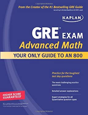 Kaplan GRE Exam Advanced Math 9781607144977