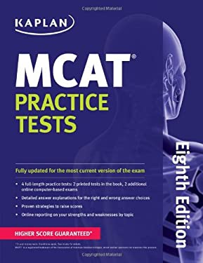 Kaplan MCAT Practice Tests 9781609789480