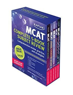 Kaplan MCAT Premier Complete 5-Book Subject Review 9781609786120