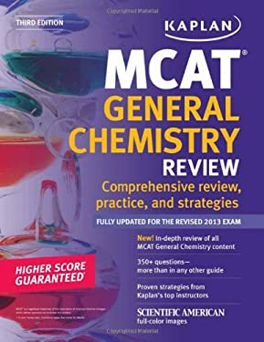 Kaplan MCAT General Chemistry Review Notes 9781609786052
