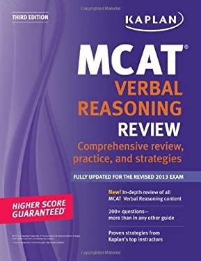 Kaplan MCAT Verbal Reasoning Review Notes 9781609786045