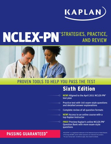 Kaplan NCLEX-PN: Strategies, Practice, and Review 9781607148289