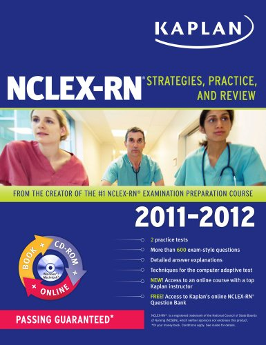 Kaplan NCLEX-RN: Strategies, Practice, and Review [With CDROM] 9781607148777