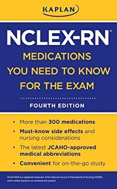 Kaplan NCLEX-RN Medications You Need to Know for the Exam