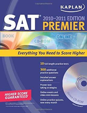 Kaplan SAT Premier [With CDROM] 9781607143000