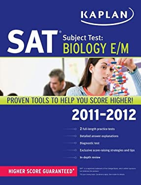 Kaplan SAT Subject Test: Biology E/M 9781607148685