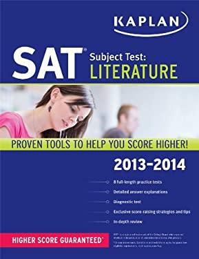Kaplan SAT Subject Test Literature 2013-2014 9781609785864