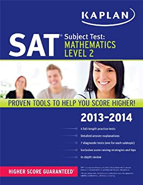 Kaplan SAT Subject Test Mathematics Level 2 2013-2014 9781609785758