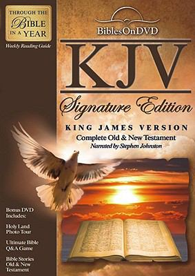 King James Version Signature Edition Bible on DVD