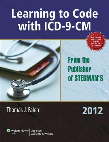 Learning to Code with ICD-9-CM 2012 9781605475356