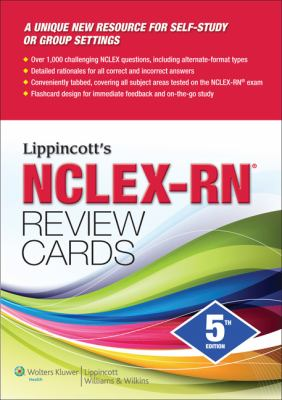 Lippincott's NCLEX-RN Review Cards 9781609136765