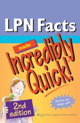 LPN Facts Made Incredibly Quick! 9781605474717