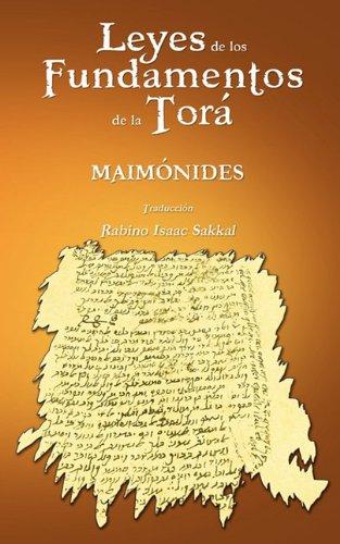 Leyes de Los Fundamentos de La Tora 9781607962410