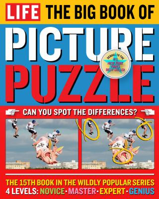 Life the Big Book of Picture Puzzle 9781603204033