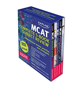 Kaplan MCAT Complete 5-Book Subject Review 9781607146544