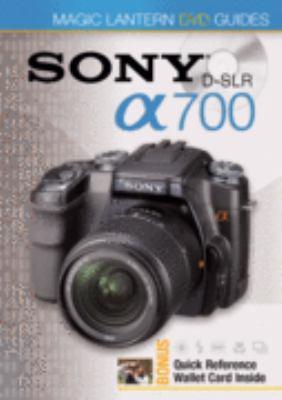Sony DSLR a700 9781600593291
