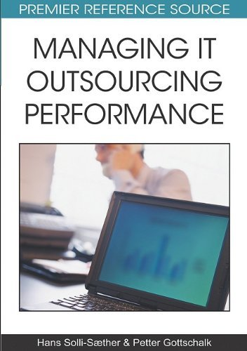 Managing It Outsourcing Performance 9781605667966