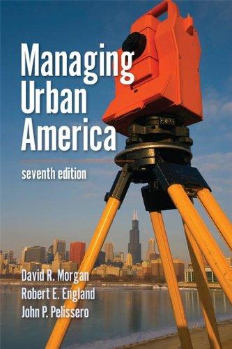Managing Urban America 9781608716722