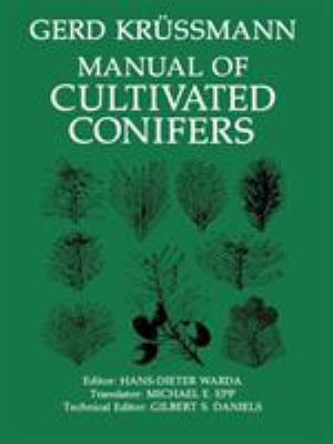 Manual of Cultivated Conifers 9781604691115