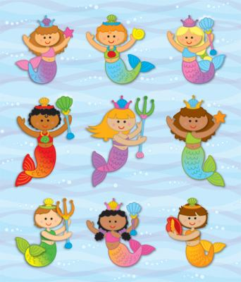 Mermaids Prize Pack Stickers 9781604189728