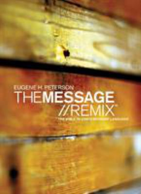 Message Remix 2.0 Bible-MS 9781600060021