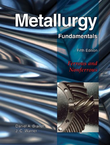 Metallurgy Fundamentals - 5th Edition