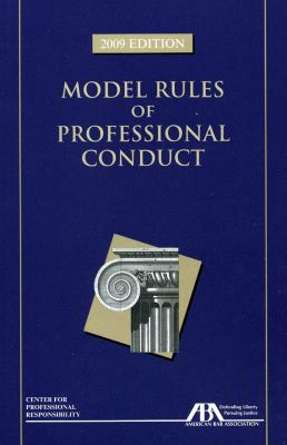 Model Rules of Professional Conduct 9781604425178