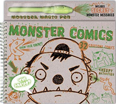 Monster Comics [With Pen] 9781609050405
