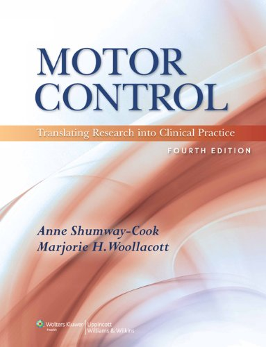 Motor Control: Translating Research Into Clinical Practice [With DVD] 9781608310180