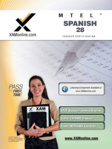 Mtel Spanish 28 Teacher Certification Test Prep Study Guide 9781607870951