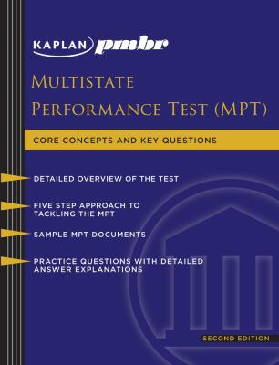 Multistate Performance Test (MPT): Core Concepts and Key Questions 9781607141068