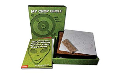 My Crop Circle Kit: Create Your Own Natural Phenomenon! [With Seeds, Templates, Alien Growing Matter, Tray]