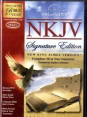 NKJV Signature Edition Bible on DVD 9781603620529