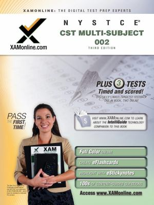 NYSTCE CST Multi-Subject 002: teacher certification exam 9781607871569