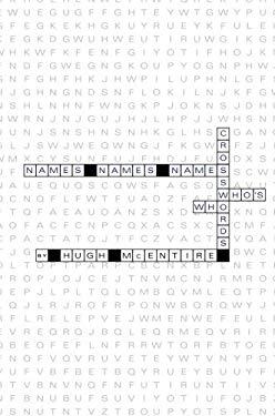 Names Names Names: Crosswords Who's Who 9781602473577