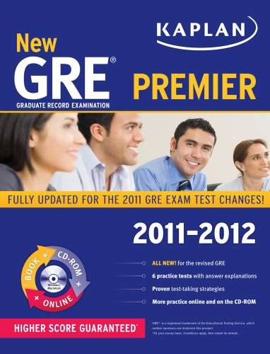 New GRE 2011-2012 Premier [With CDROM] 9781607148494